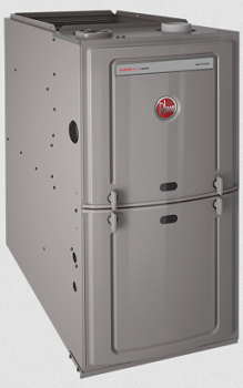 Rheem residential natural gas furnace
