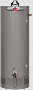 Rheem residential natural gas tank style water heater